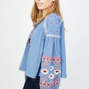 Anthropologie RD & Koko Peasant Boho